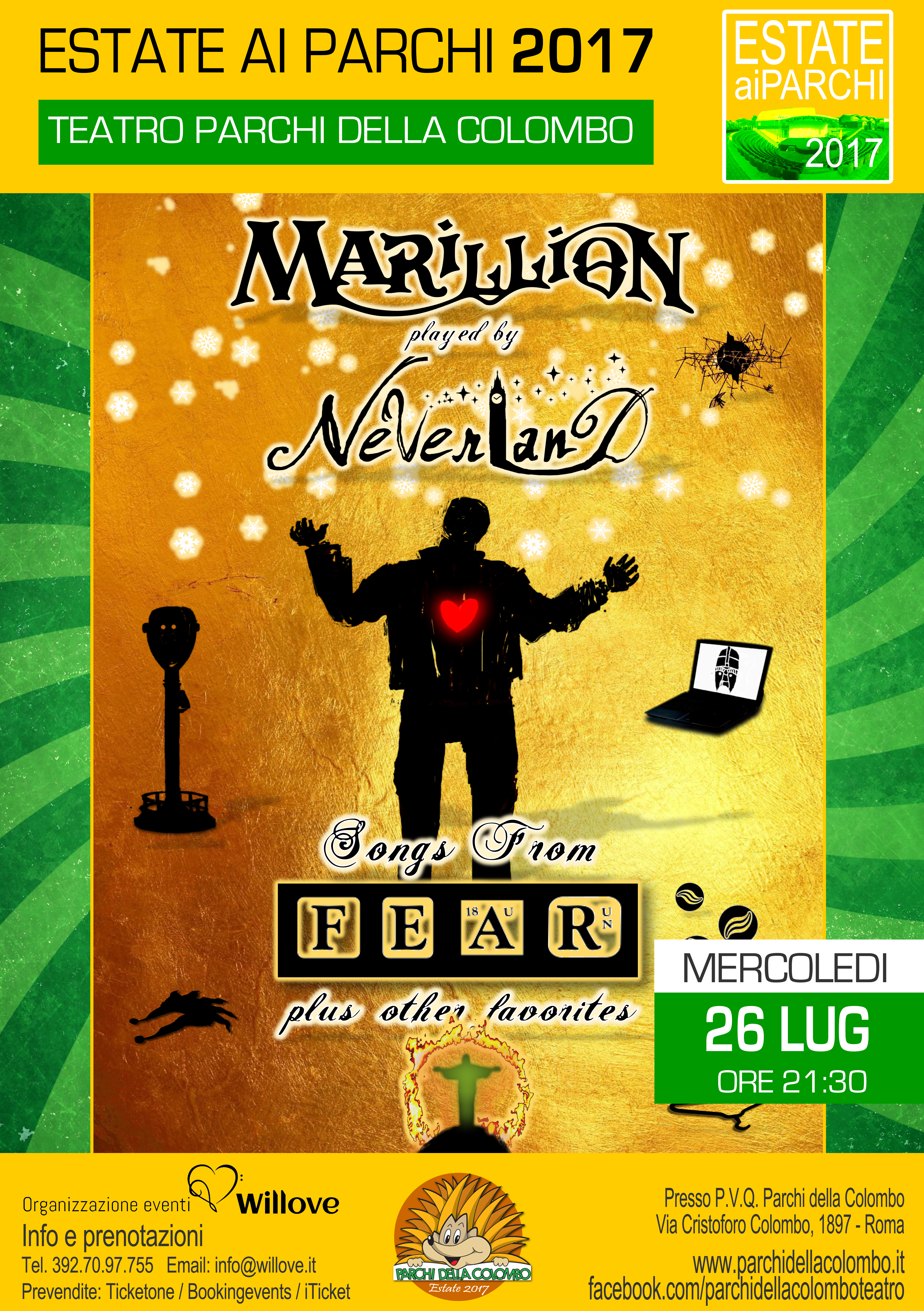 ESTATE AI PARCHI 2017 MARILLION