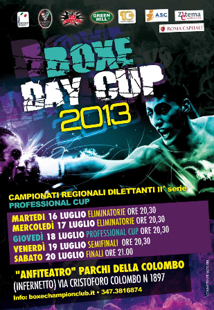 Box Day Cup