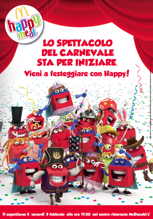 Mc Donald's Carnevale 2015