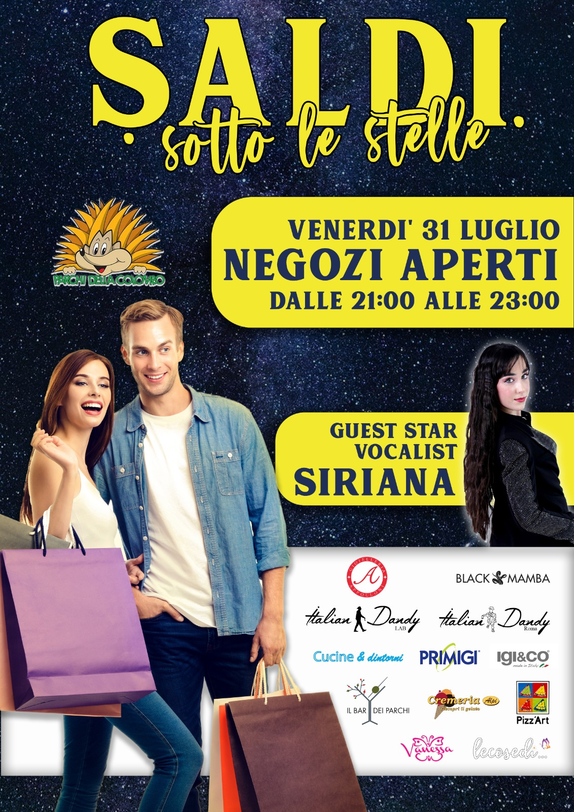 SHOPPING SOTTO LE STELLE