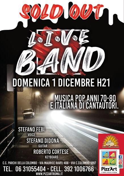 LIVE BAND - MUSICA POP ANNI 70-80